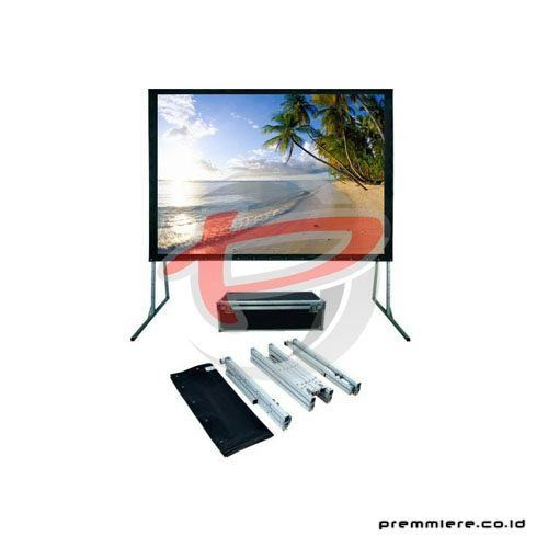 "Screen Projector Fast Fold Rear 200"" Diagonal [RSSV3141s]"